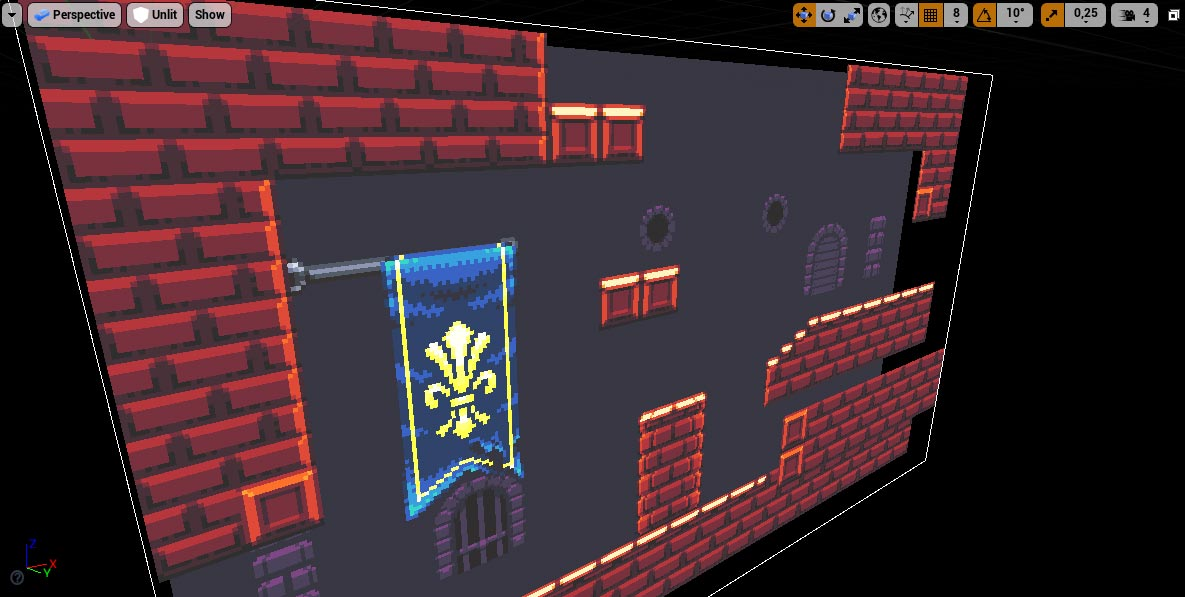 Tilemap in the viewport